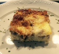Sausage and Brie Cheese Casserole